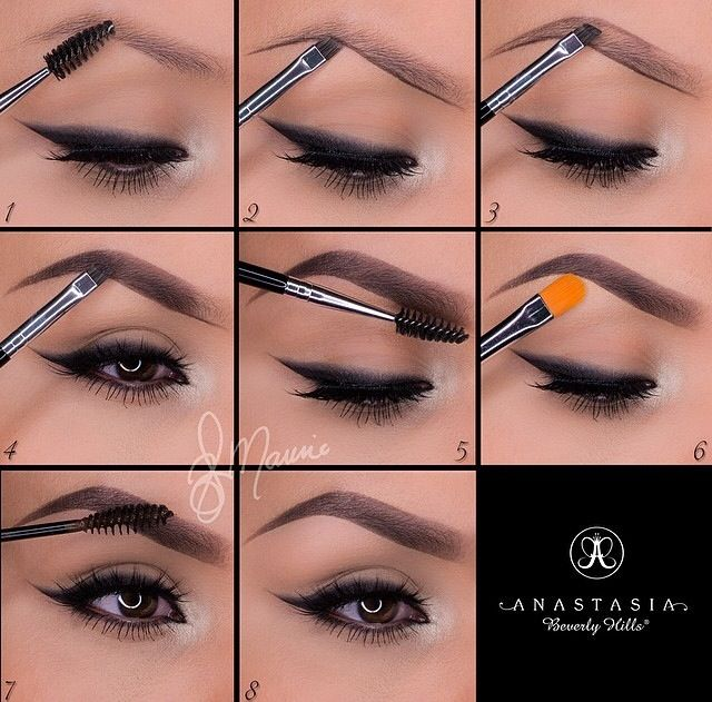 How to do eyebrows.