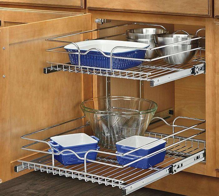 Diy Small Kitchen Ideas Storage Space Saving Tips Kitchen Wire Storage Basket Baskets Diy Space Cabinet Shelving Saving C In 2020 Knife Bleeding Guadalupe