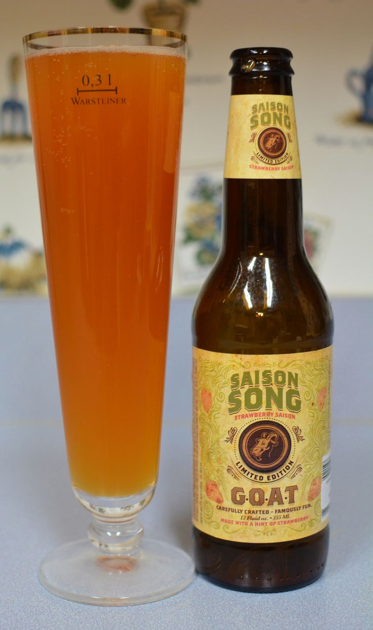 Horny Goat Brewing Saison Song, hands down, best saison I have ever tried. Seasonal autumn beer.