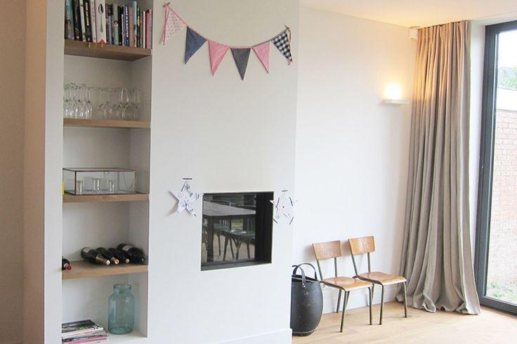 25 beste idee n over vouwdeuren op pinterest binnenpandse veranda accordeondeuren en binnen - Studio stijl glazen partitie ...
