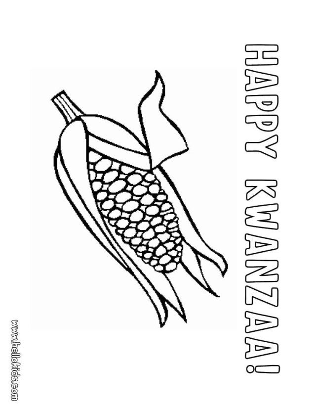 27 Exclusive Picture Of Corn Coloring Page Entitlementtrap Com Coloring Pages Kwanzaa Colors Super Coloring Pages