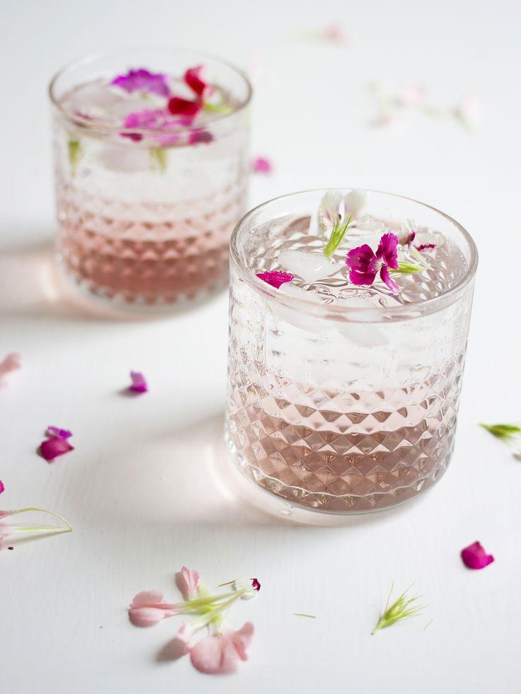 Raspberry & Rose Cocktails. - ghostparties