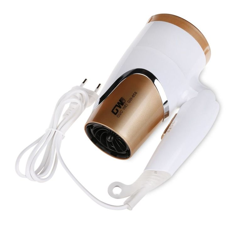 GW Professional Salon Hair Dryer Fast Dry Foldable Handle Travel Household Blow Lonic Hairdryer Ultra-quiet Styling Tools