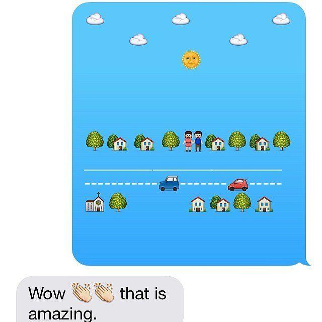 This is an Emoji masterpiece.