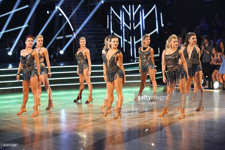 THE RESULTS - 'Episode 2009A' - 'Dancing with the Stars: The Results' continued on TUESDAY, MAY 12 . It was a jam-packed night that kicked off with a simply American performance choreographed by Mandy Moore for Almay to honor the women of the U.S. Military. The unique performance showcased explosive choreography and featured both the Pro and Troupe dancers. SHARNA BURGESS, PETA MURGATROYD, LINDSAY ARNOLD, BRITTANY CHERRY, EMMA SLATER, WITNEY CARSON, JENNA JOHNSON
