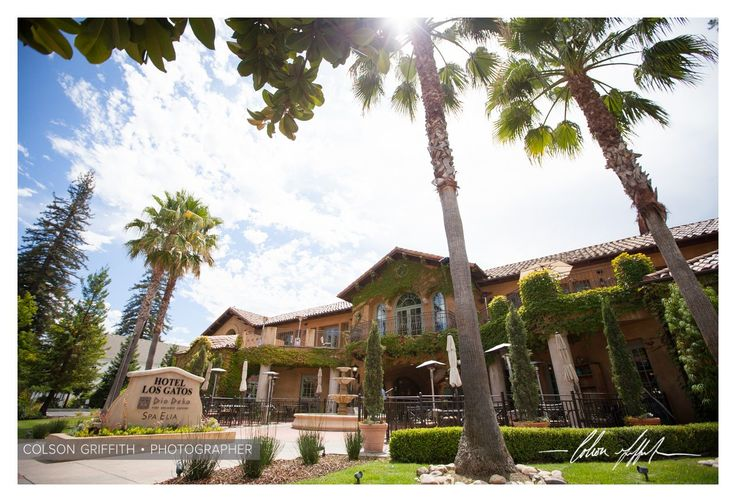Hotel Los Gatos for a Santa Clara wedding