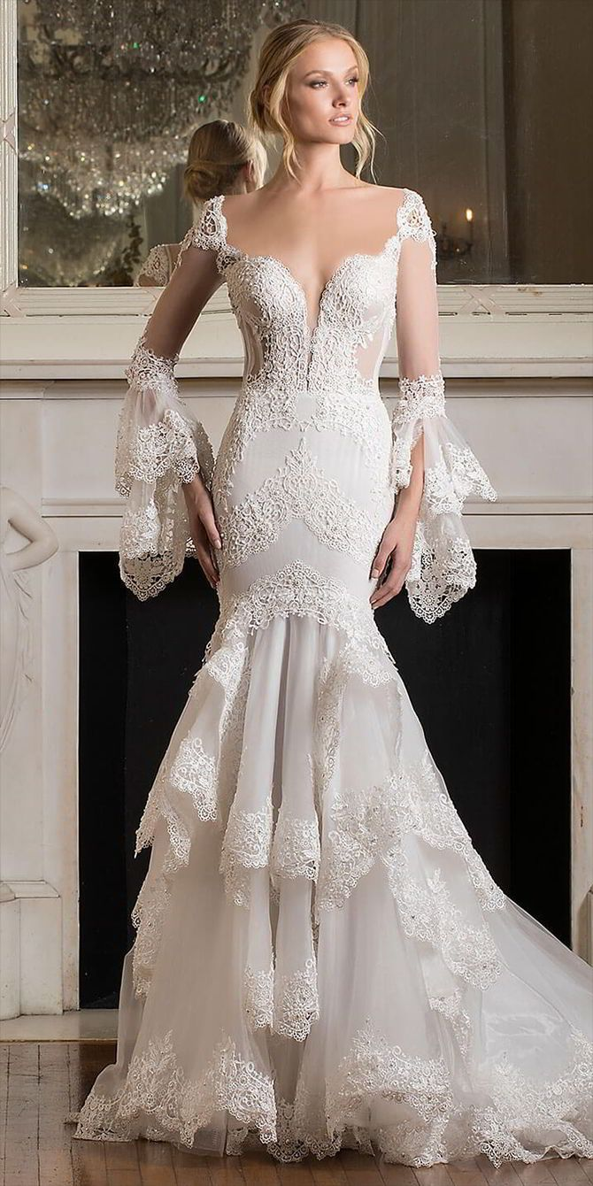Celebrate Love With The Pnina Tornai 2017 'Dimensions' Bridal Collection – #…
