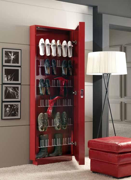 Las 25 mejores ideas sobre zapateros originales en - Muebles para guardar zapatos ...