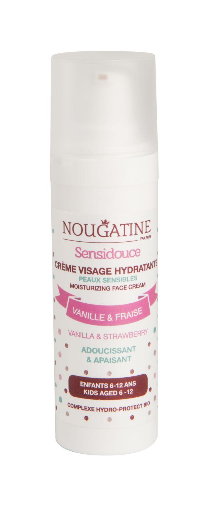 Doux Good - Nougatine - Crème hydratante Sensidouce pour peaux sensibles, doux parfum vanille-fraise #cosmétiques #naturels #enfants #onevoice