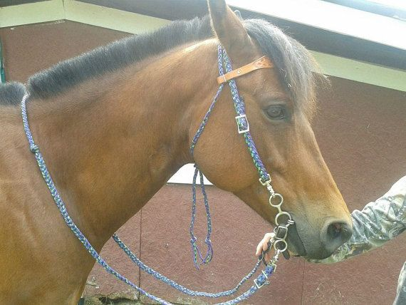 Paracord Braided Headstalls, Bridles, Reins, and ...