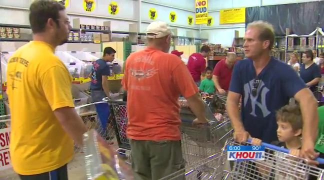 Why you might need a shopping cart to buy fireworks
