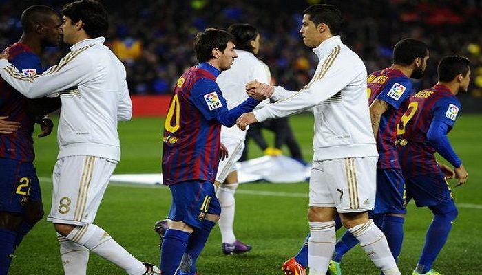 Pertandingan La Liga Spanyol untuk kali ini akan mempertemukan Barcelona vs Real Madrid yang akan digelar Pada hari Minggu (26/10/2013) di Camp Nou Stadium – Barcelona dan akan disiarkan LIVE di RCTI Pukul 22:30 WIB.