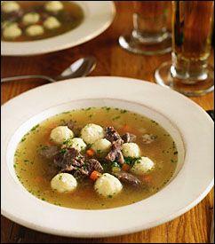 Paraguayan Dumpling Soup  (Bori-Bori)