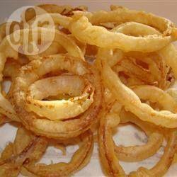 Фото рецепта: Луковые кольца во фритюре