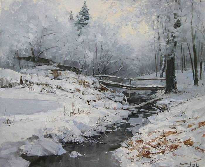 Snow Paintings Images