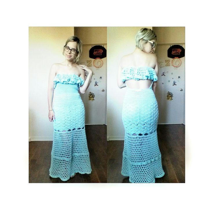 Long mermaid summer dress $60