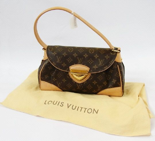 Louis Vuitton 'Beverley' shoulder bag, monogram, 31cm wide with Louis Vuitton headed paper and certificate in Louis Vuitton dustbag.   Estimate £550.00 to £650.00 (Lot no: 155 in sale on 05/08/2014) The Cotswold Auction Company