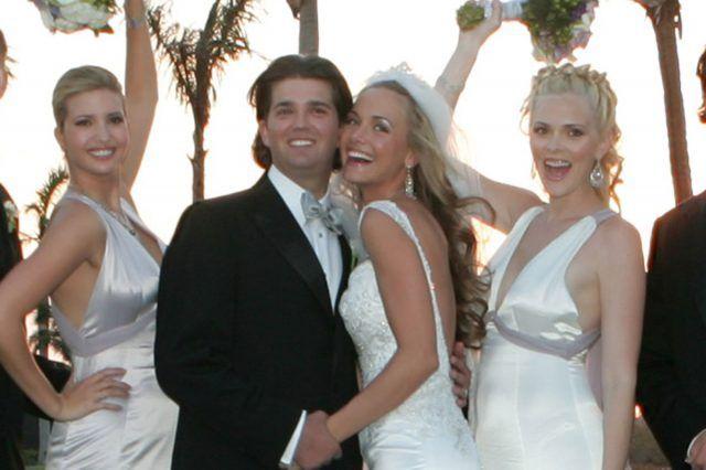 Pin On Love Trump Weddings Melania Ivanka Donald Jr Eric