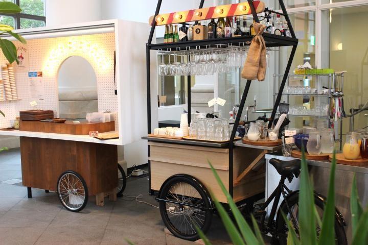 マルシェ風ワゴンが並ぶ横浜の洋館カフェ。世界各国の珍しいサンドイッチをどうぞ - ライブドアニュース