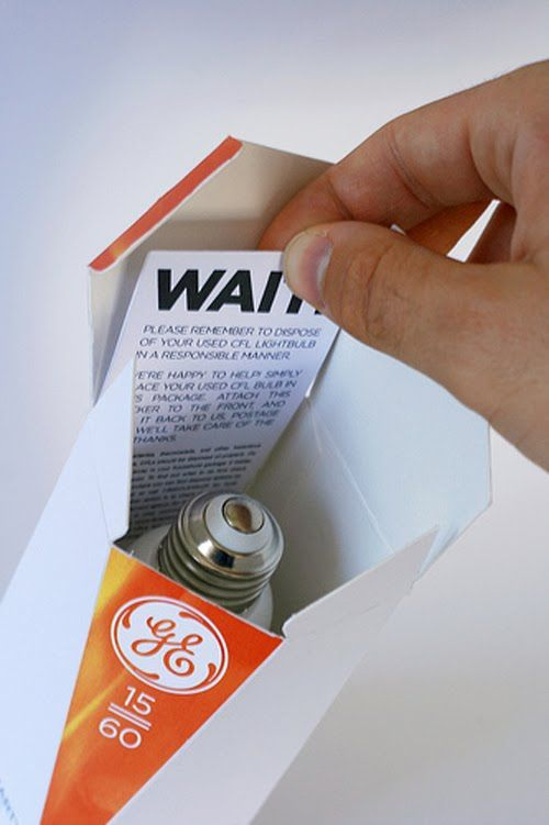 GE Lightbulb (Student Work) on Packaging of the World - Creative Package Design Gallery