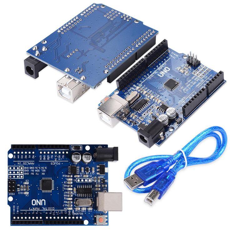 UNO R3 MEGA328P CH340 CH340G Voor Arduino UNO R3 Met Usb-kabel Gratis Verzending