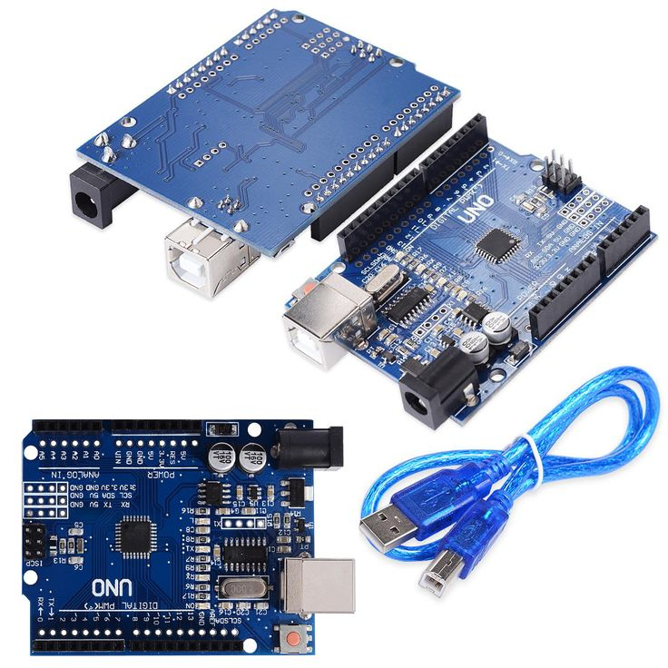 UNO R3 MEGA328P CH340G CH340 Para Arduino uno R3 Con El Cable USB Envío Gratis
