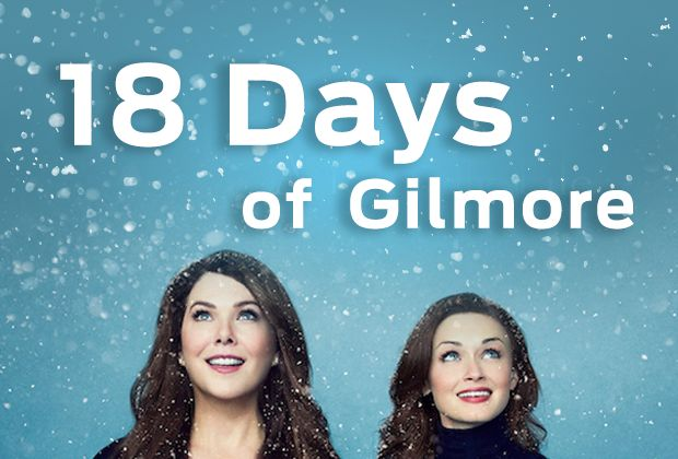 Gilmore Girls fans, you've been tapping your wrist watch for the past 10 years — you can hold out for 18 more days, right?