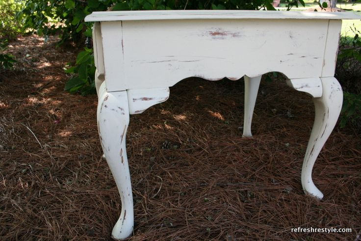 Oak end tables, Shabby and End tables on Pinterest