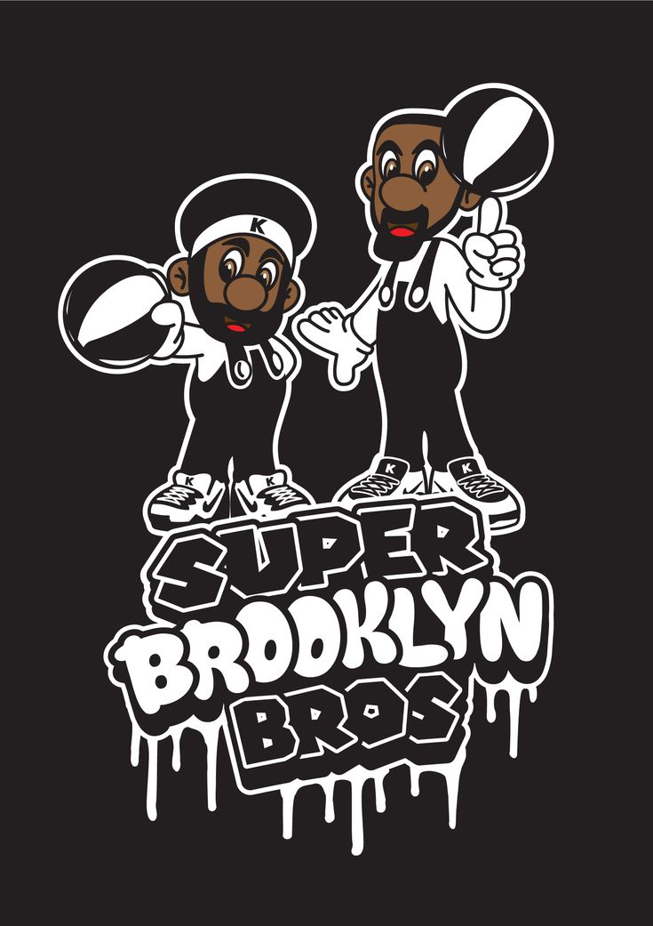 Kyrie Irving Kevin Durant Brooklyn Nets Super Mario