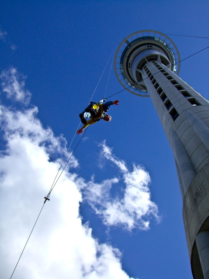 A jumper off the Sky Tower - Auckland, New Zealand