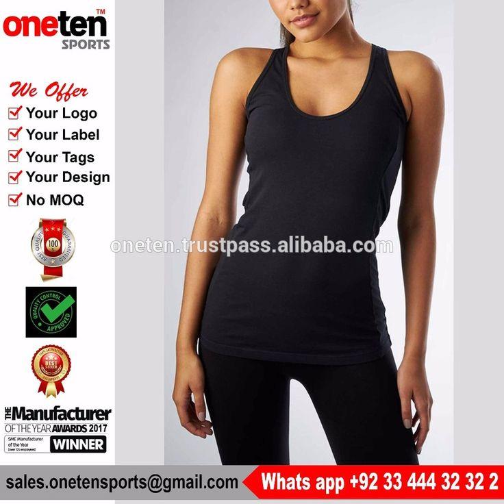 Bodybuilding Gym Vests Plain cotton gym tanktops - Ladies Gym wear
