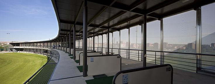 Centro de Excelencia de la Real Federación Española de Golf. allende arquitectos. Madrid 2012