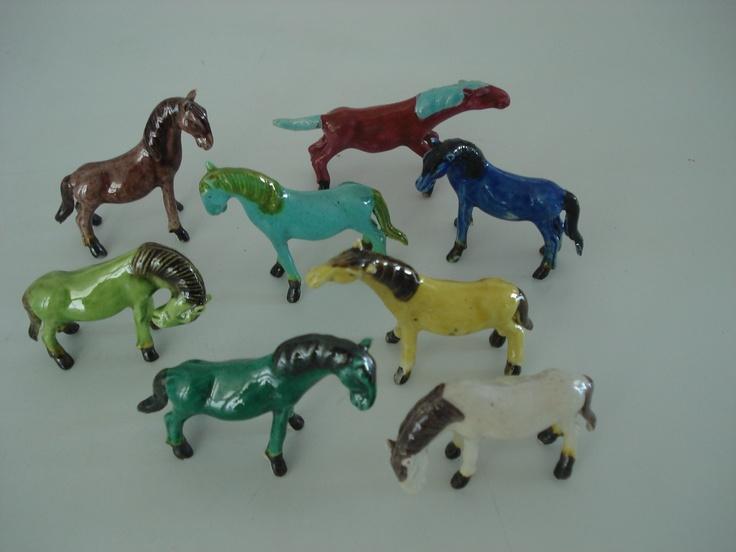 eight horses (ceramic)  50,00 euros