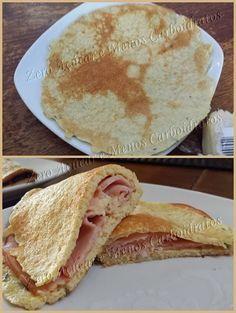 panqueca de queijo dukan low carb