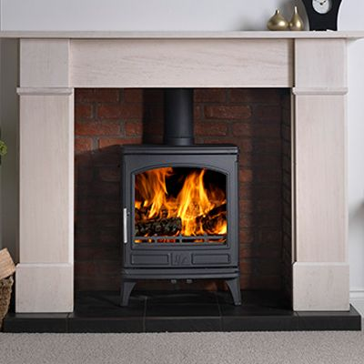 7kw Ashdale Multi Fuel Stove | Buy Traditional Multi Fuel Stoves Online | UK Stoves