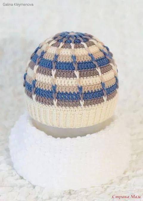 12 best Gorro images on Pinterest | Crochet hats, Crocheted hats and ...