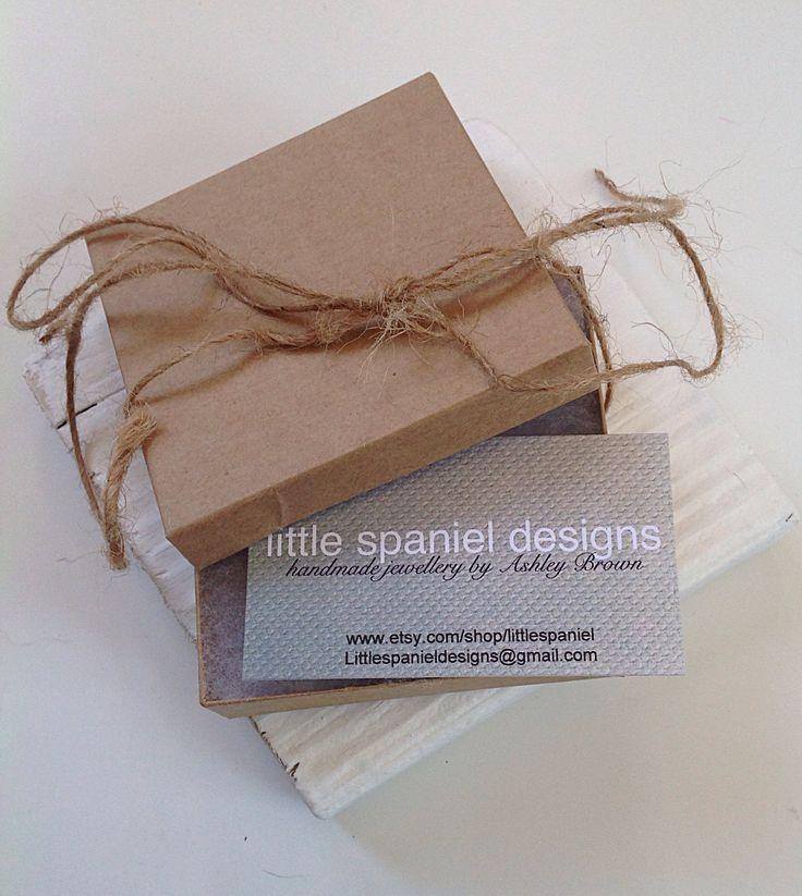 Little spaniel packaging www.etsy.com/shop/littlespaniel.