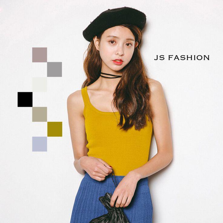 選べる全7色・ダブルストラップキャミソール・タンクトップ・夏トップス・カラーバリエーション・シンプル・F・フリーサイズ・大人可愛い・レディースカジュアル・デート・女子会・お出かけ・デイリー【170530】#JSファッション #カジュアル #大人可愛い #夏 #シンプル #トップス #キャミソール #ニット #レディース #ダブルストラップ #ダブル肩紐 #シンプル #着回し #重ね着 #コーディネート #ノースリーブ #グレー #ブラック #ホワイト #カラーバリエーション #淡い色 #ラウンドネック #フリーサイズ #大人フェミニン #爽やか #かわいい #大人コーデ #個性的 #デート #トレンド #流行り #お出かけ #デイリー #通勤 #通学 #シンプルコーデ #海外 #通販