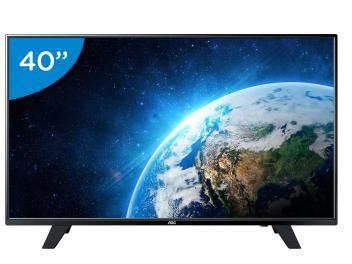 "TV LED 40"" AOC Full HD LE40F1465 - Conversor Digital 1 USB DTV"