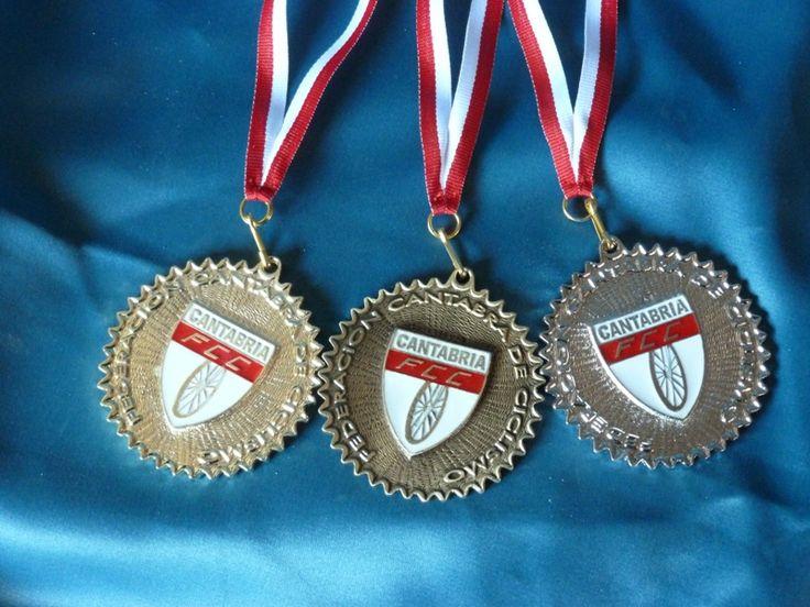 Medallas Federacion Cantabra de Ciclismo