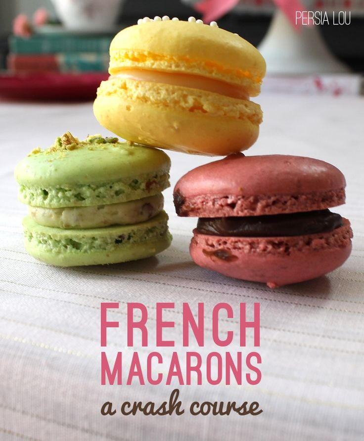 Homemade French Macarons easy instructions.