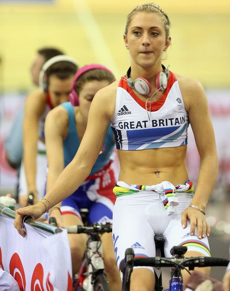 Laura Trott, one of Team GB's most talented track cyclists, a legend in the making.