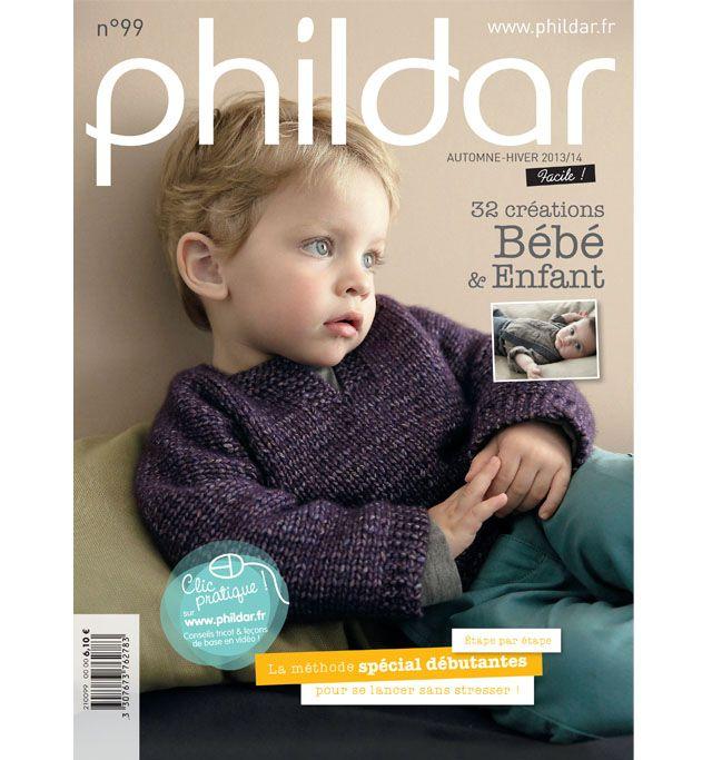 Catalogue Phildar Layette Pitchoun N99 - Phildar Lyon, Lille, Paris boutique en ligne. Offres: Modèle paletot neige layette 24.75€; Modèle cardigan.