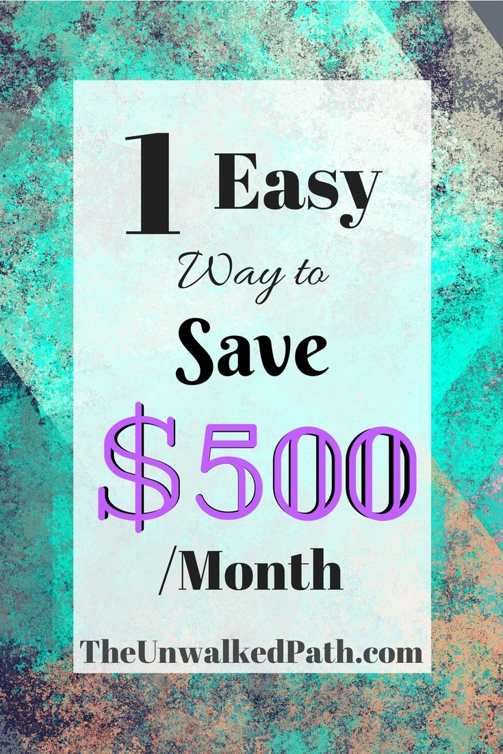 Looking for an easy way to save a few hundred dollars each month? Check out the easy way to do so!