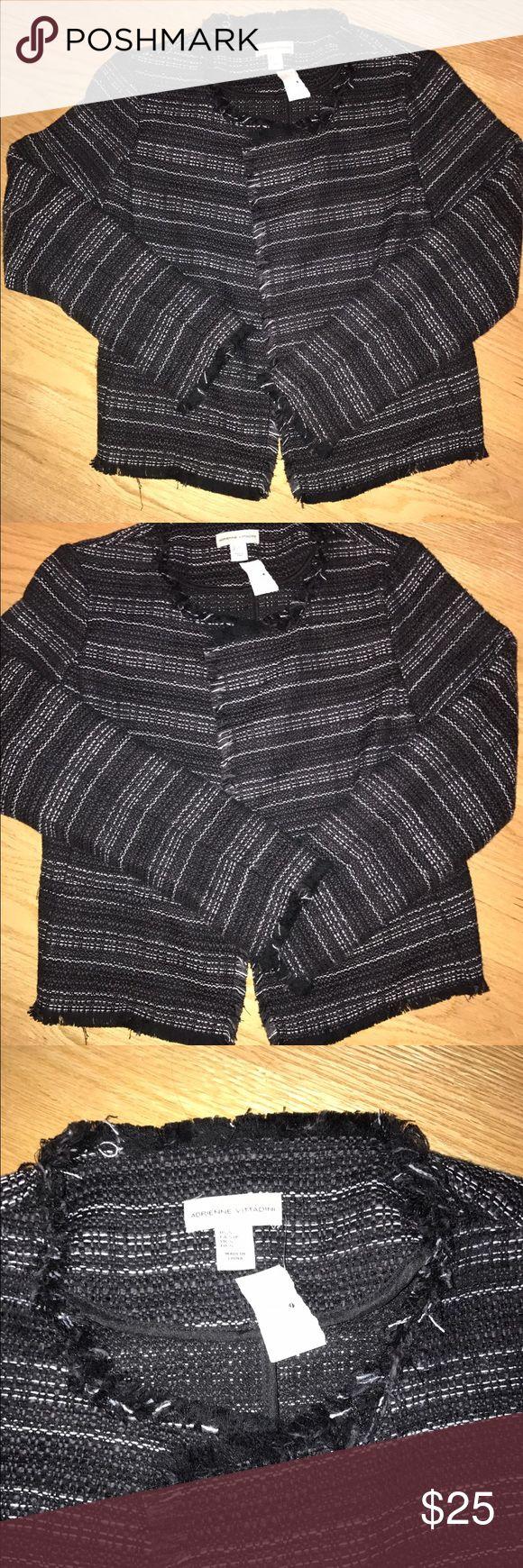 Adrienne vittadini blazer cardigan  small nwt Adrienne vittadini blazer cardigan jacket small nwt Adrienne Vittadini Jackets & Coats Blazers