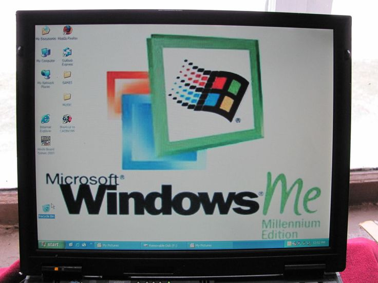 IBM  ThinkPad  600E with   WINDOWS  ME #IBM