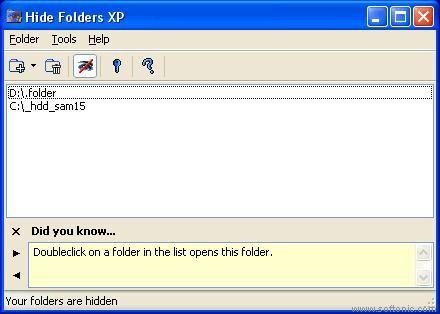 Hide folders xp v2.9.1.391 cracked