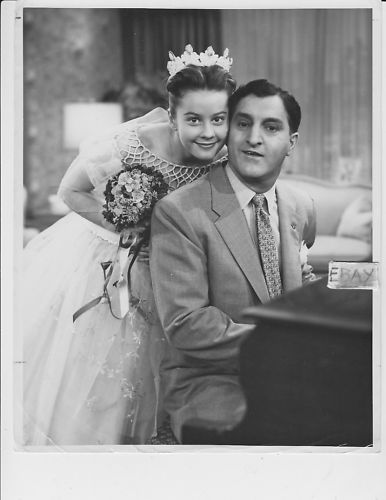 Sherry Jackson Danny Thomas VINTAGE Photo