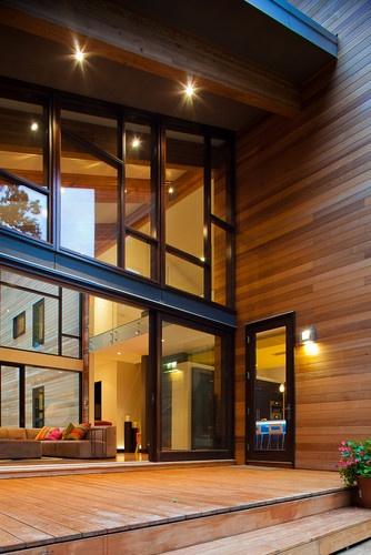 Pigeon Creek Residence Modern Exterior Grand Rapids