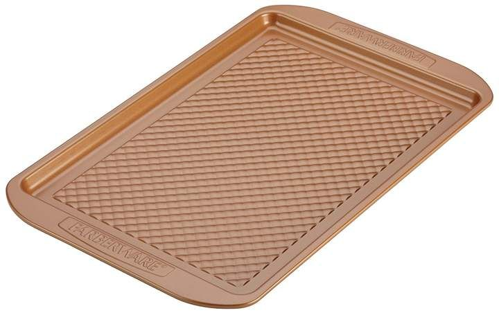 Copper Faberware Colorvive 11x17 Cookie Sheet Oven Sticks Halibut Farberware Cookie Sheet Cookies